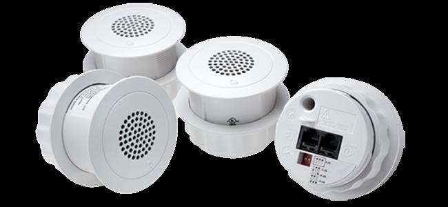 Qt®-Emitters för effektiv Sound Masking och ljuddämpning